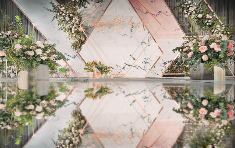 【梓塘·婚礼】精品热销——香槟粉
