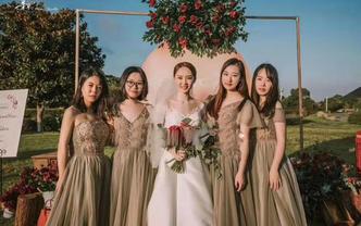 泽颜美妆▪婚嫁美学馆。户外现场主纱