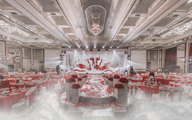 汇爱婚礼——红白色系《华爱》