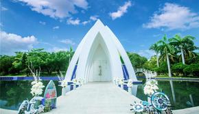 三亚天涯海角教堂婚礼13999元
