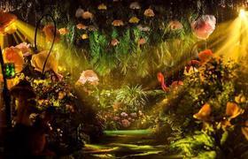 爱丽丝梦游仙境童话森系婚礼