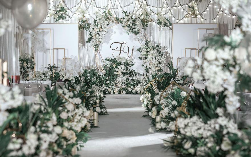 【颜汐婚礼策划】白绿色小清新婚礼12345824