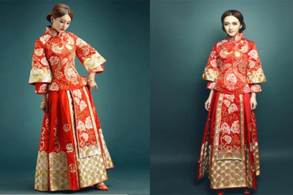 【秀禾服】新中式婚纱典范 古典与现代的完美交织