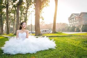 婚礼当天的新娘们