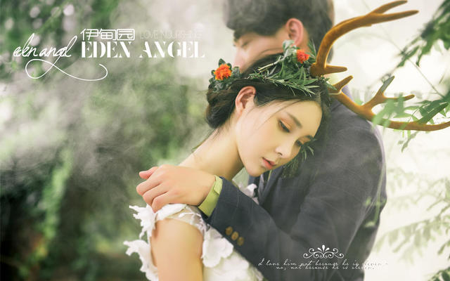 8K拉摄影【伊甸园的天使】森林系