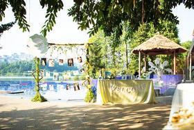 爱典礼|小清新|户外湖畔婚礼