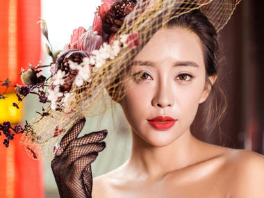 中式婚纱照 - 红色情节
