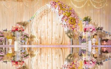 【花诚缘主题婚礼】花镜·淡雅黄色系列唯美婚礼