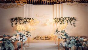 【良辰婚礼】四大全含 简约大气爆款 橘色婚礼