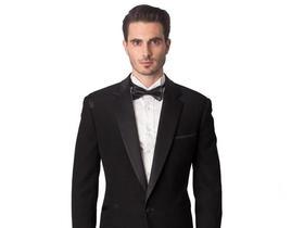 黑色两件套礼服