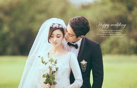春暖花开佳人有约----长沙纯色婚纱摄影