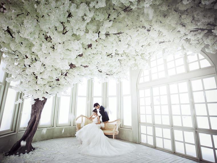 唯美意境婚纱照系列