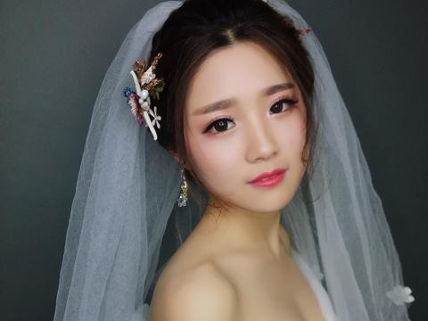 李锐造型嫁衣 新娘跟妆-首席跟妆师 花漾系列造型