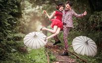 【经典再现】时尚内景+双外景+夜景拍摄,属于你的婚照