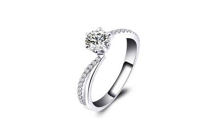壹爱钻石订婚结婚钻戒——围冠