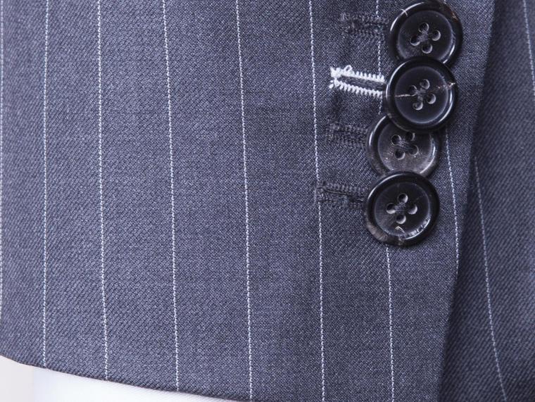【优客男士礼服定制】高博乐条纹两件套