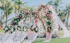 海边婚礼二人目的地旅行微婚礼套餐