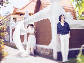 【巴厘岛婚纱照】 天堂岛+艺术宫+街拍+包酒店