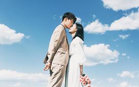 银杏叶秋景主题拍摄/包邮/包住/送新婚纱