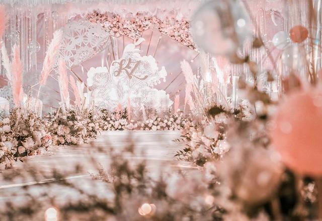 逸泉酒店婚礼——沉浸在少女心的世界无法自拔!