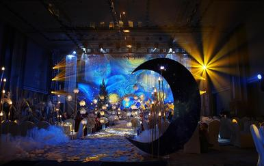 【麒麟宴会】梵高的星空/ 创意梦幻抽象 含人员