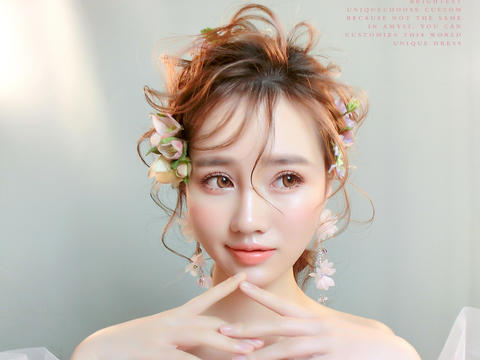 【推荐】艾米丽金牌老师全程跟妆+亲友妆