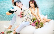 【微旅拍】上海斐诺岛皇家园林碧海银沙海景泳池