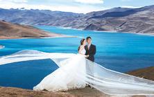 西藏婚纱摄影 6999羊湖+布达拉宫线路式拍套餐
