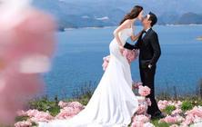 西海岸海景沙滩+唯美夜景+抖音网红视频+赠送婚纱