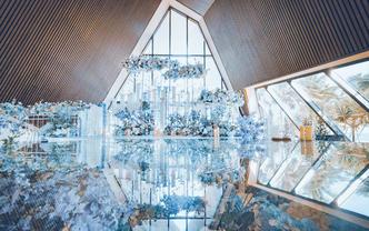 三亚海岛教堂婚礼   温柔如你的颜色