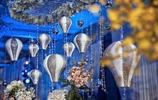 【立梵婚礼】蓝色梦幻热气球浪漫定制婚礼
