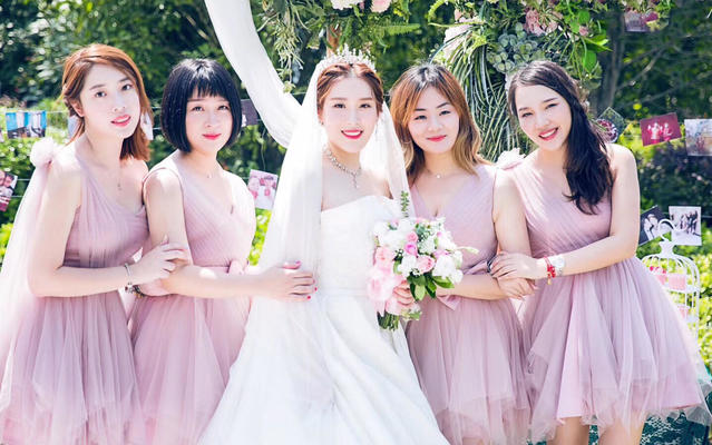 [AMY  婚礼客片]甜美可爱的户外婚礼