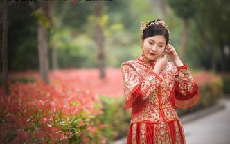 《限时特价》时下最流行时尚显瘦手工绣禾服