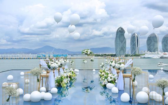 三亚旅行婚礼,主持+全程策划