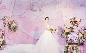 【馥悅主题婚礼】云想|粉色灰色低调优雅