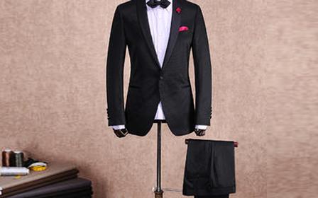 意大利进口130支组合结婚礼服8件套