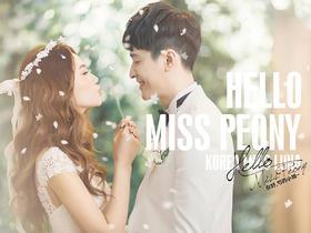 韩国Miss Luna 《你好,芍药小姐》婚纱摄影系列