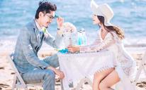 【飘视觉特惠】豪华主题海景婚纱照+赠水晶船+4星酒店