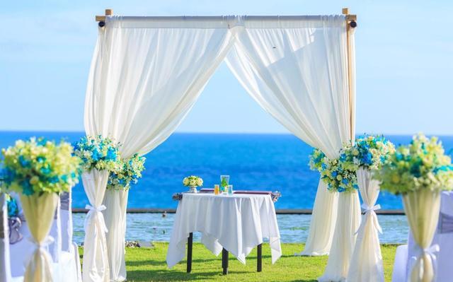 海边婚礼案例征集,岛屿纪是你最坚定的一场不复以往