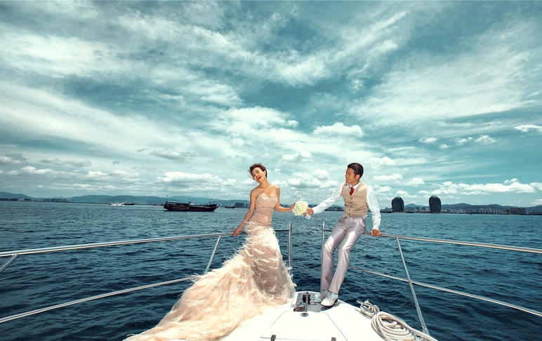 肇东维纳斯三亚旅拍婚纱特惠套餐