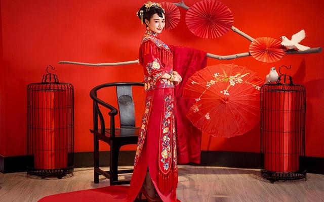 #Viola 薇奥拉#秀禾篇,你爱红妆吗
