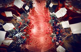 红金色系中式婚礼 | 柔情似水 佳期如梦