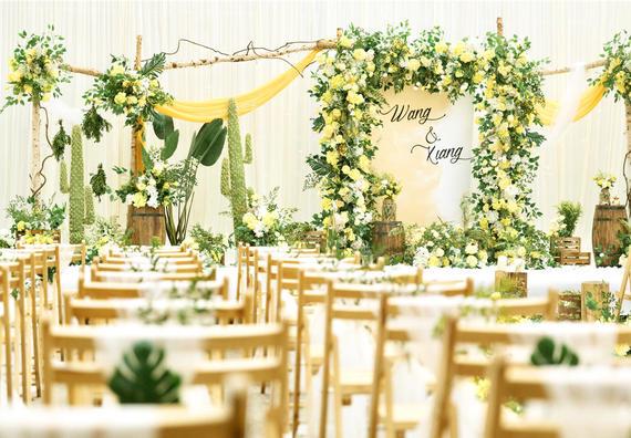 小型婚礼优选资深四大助攻+全新为爱布置