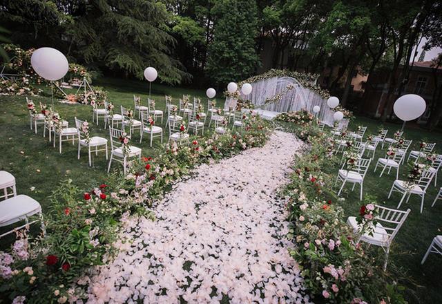 户外森系是多少少女向往的婚礼