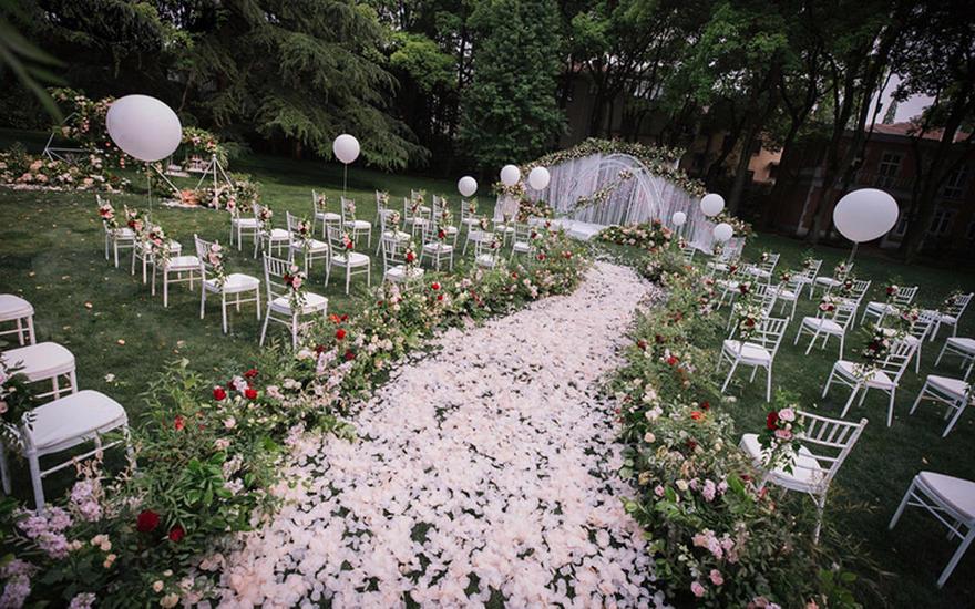 回归自然的森系婚礼---户外婚礼