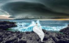 【巴厘岛】南纬8°▶金巴兰礁石▶白色沙滩▶比基尼