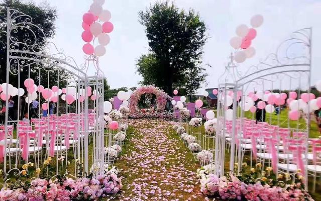 农村自己场地户外婚礼案例集锦@户外办婚礼的看过来
