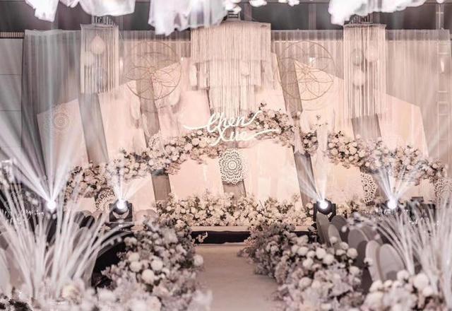 【爱诺定制】香槟粉暖色系婚礼