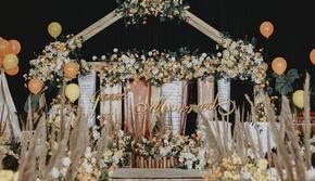 【艾朵婚礼定制】美式花艺,森系爆款