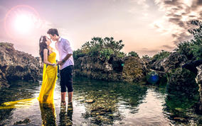爱在垦丁 台湾旅行婚纱